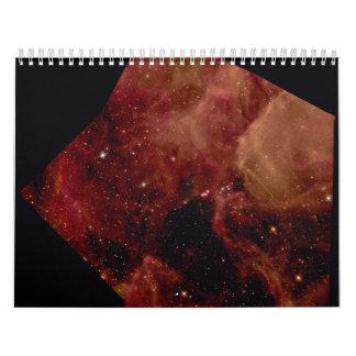 Mosaic of Supernova 1987A Wall Calendar