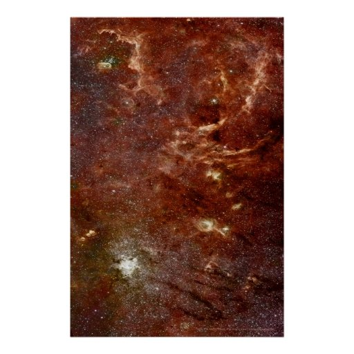 Mosaic of the Galactic Center 12x18 (12x18) Print