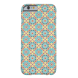 Mosaic of tile and arabesque green yellow and