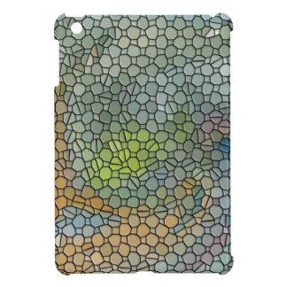 Mosaic orange iPad mini cases