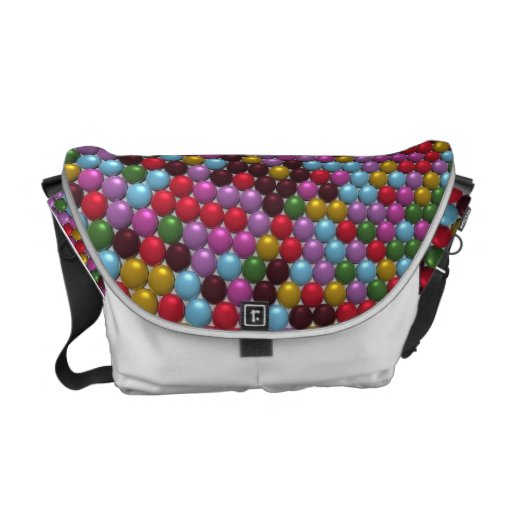 Mosaic Orbs Courier Bags