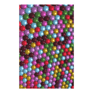 Mosaic Orbs Stationery