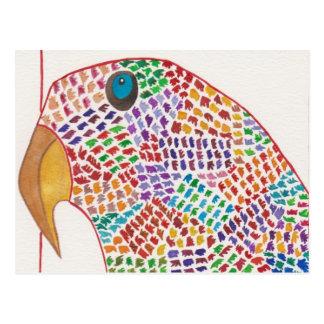Mosaic Parrot of Saint Paul Postcard