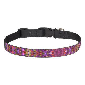 Mosaic Pattern   Dog Collars, 3 sizes Pet Collar
