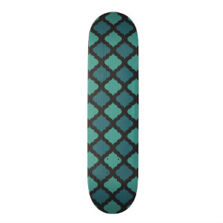 Mosaic pattern in arab style skateboard