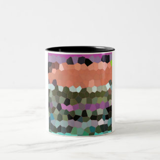 Mosaic Pattern in assorted colours Mug