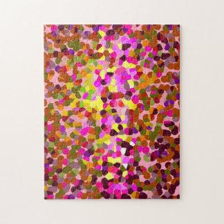 Mosaic Pattern Jigsaw Puzzle