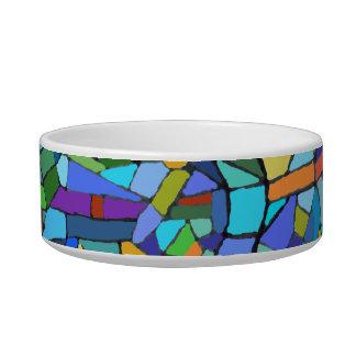 Mosaic Pattern Pet Bowl