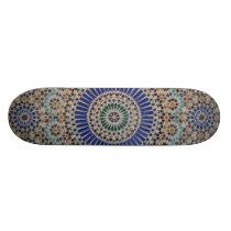Mosaic Pattern Skateboard Deck