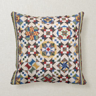 Mosaic Pattern Throw Pillow
