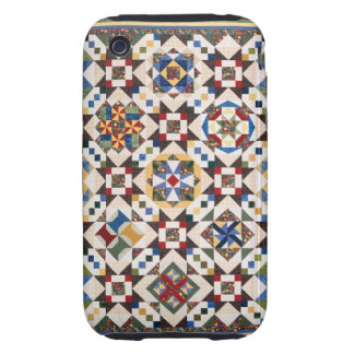 Mosaic Pattern Tough iPhone 3 Cover