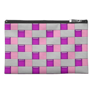 Mosaic pattern travel bag travel accessories bags