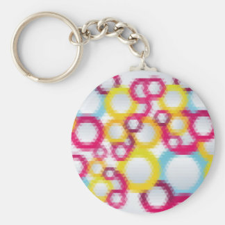 mosaic patters 3 keychains