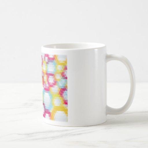mosaic patters 4 classic white coffee mug