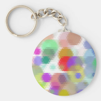 mosaic patters 6 keychains