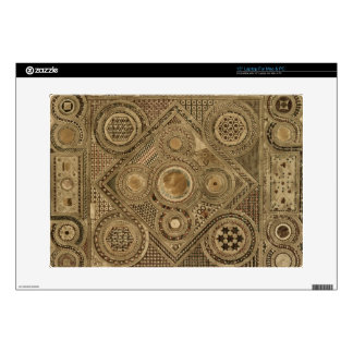 """Mosaic Pavement Before the Altar, plate A from 'We 15"""" Laptop Decal"""