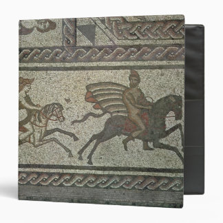 Mosaic pavement from the Roman villa at Low Binder