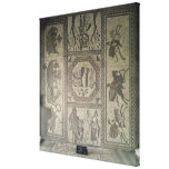 Mosaic pavement from the Roman villa at Low Canvas Print