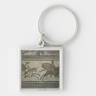 Mosaic pavement from the Roman villa at Low Keychain