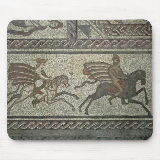 Mosaic pavement from the Roman villa at Low Mouse Pad