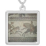 Mosaic pavement from the Roman villa at Low Custom Necklace