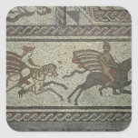 Mosaic pavement from the Roman villa at Low Square Sticker