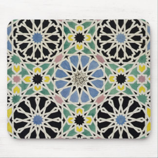 Mosaic Pavement in the Alhambra, from 'The Arabian Mouse Pad