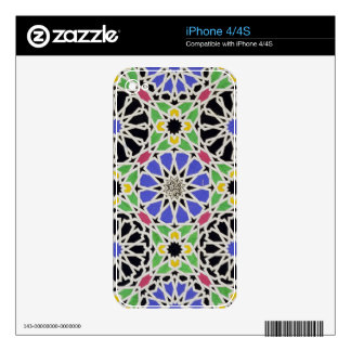 Mosaic pavement in the dressing room of the Sultan iPhone 4 Skins