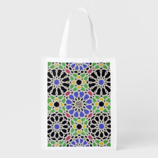 Mosaic pavement in the dressing room of the Sultan Reusable Grocery Bag