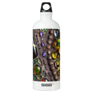 Mosaic Peacock Feather SIGG Traveler 1.0L Water Bottle