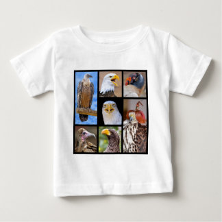 Mosaic photos birds of prey baby T-Shirt