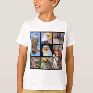 Mosaic photos birds of prey T-Shirt