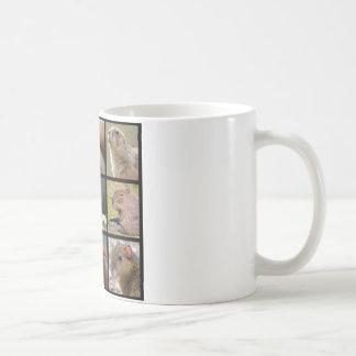 Mosaic photos of rodents coffee mug