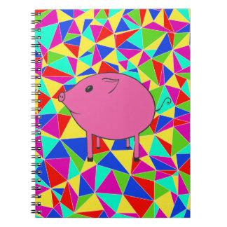 Mosaic PiGgy! Notebook
