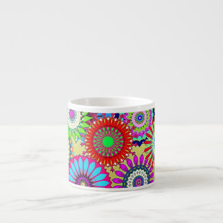 Mosaic Pinwheels Espresso Cup