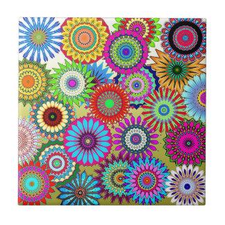 Mosaic Pinwheels Tile
