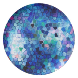 Mosaic Party Plates