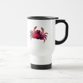 Mosaic Polygon Red Crab Mugs