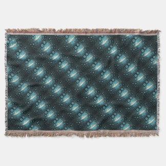 Mosaic Pop Art Sand Tiger Shark Throw Blanket
