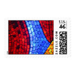 Moscow Mosaic Postage Stamp