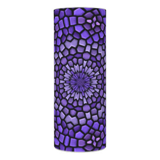 Mosaic Purple Abstract Flameless Candle