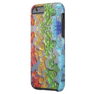 Mosaic Rainbow shard Glass Phone Case