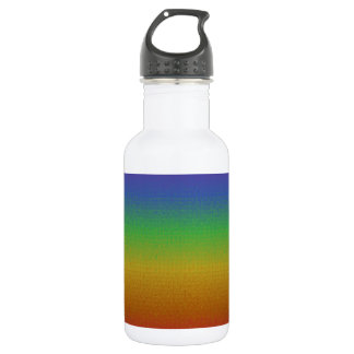 Mosaic Rainbow Stainless Steel Water Bottle