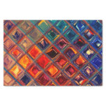 Mosaic | Rainbow Tile Bold Colorful Abstract Tissue Paper