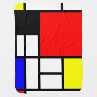 MOSAIC rectangles squares colored I + your ideas Stroller Blanket
