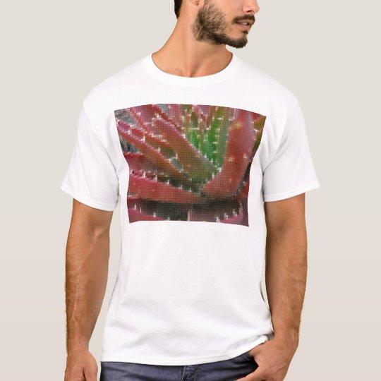 Mosaic Red-Green Aloe 2 T-Shirt