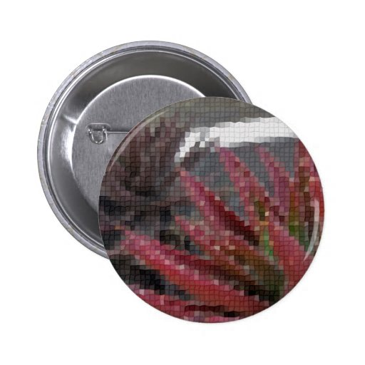 Mosaic Red-Green Aloe 3 Button