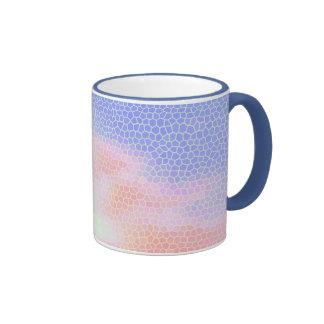 Mosaic Skies Ringer Coffee Mug