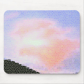 Mosaic Sky Mouse Pad