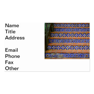 Mosaic Stairs Double-Sided Standard Business Cards (Pack Of 100)